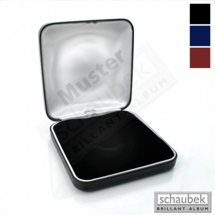 metal coin case, cushioned padding, 60  x 58 mm