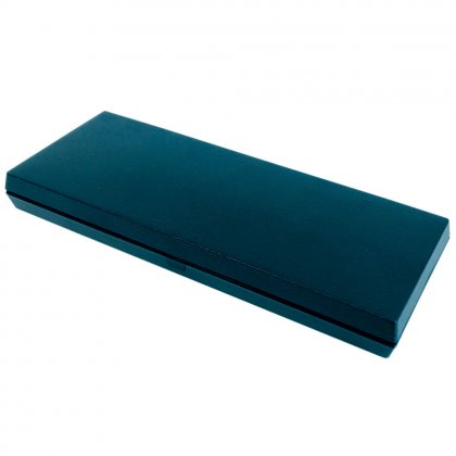 plastic coin case Omega, blue, 220 mm x 85 mm crushable...