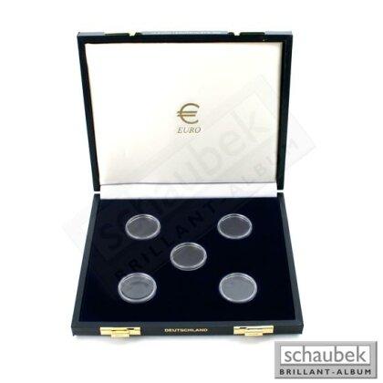 10 Euro Münzenkassette Brd Leichtathletik Wm 2009 Für 5 Münzen In