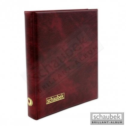 ring binder Genius with padded leatherette cover