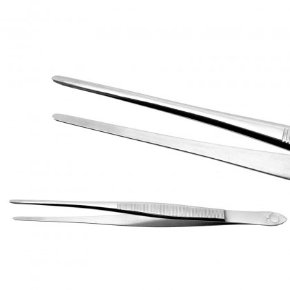Tweezer, 155 mm, pointed