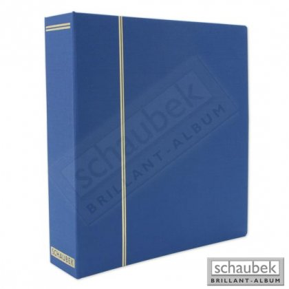 cloth screw post binder blue