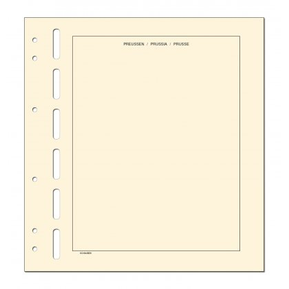 headed country sheets - 10 sheets Preußen
