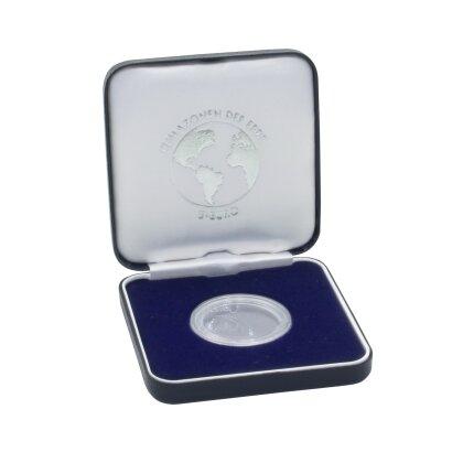 Münz Etui Metall 75 Mm X 75 Mm Für 5 Euro Münze Klimazonen Der
