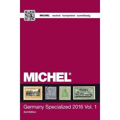 MICHEL Germany specialised catalogue 2016, Vol. I in...