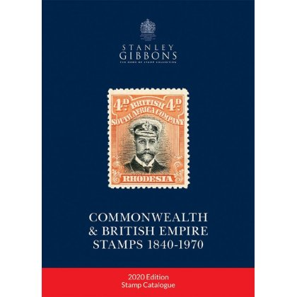 Stanley Gibbons Commonwealth & British Empire Stamps 1840-1970, 122th edition 2020