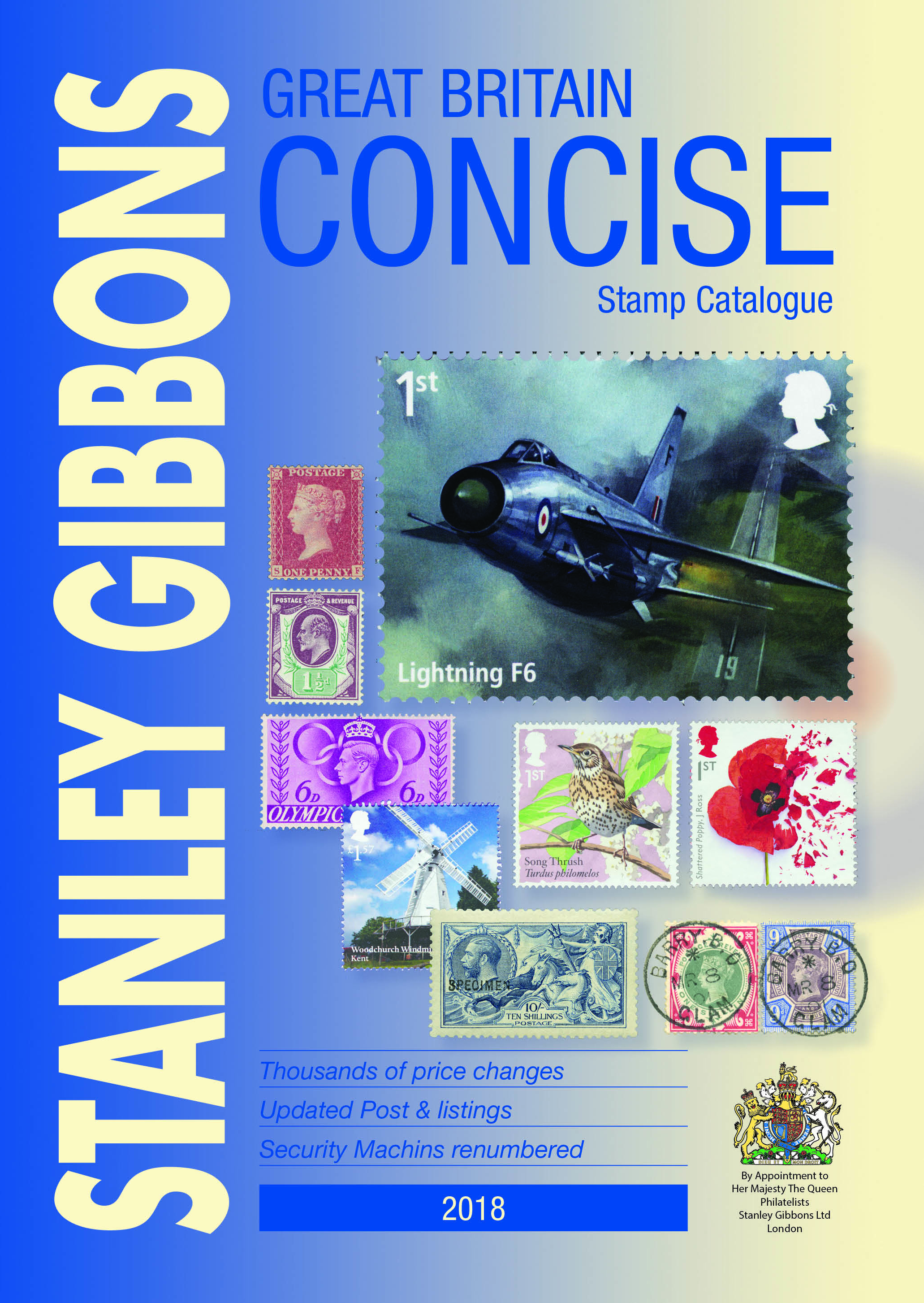 Stanley Gibbons 2018 GB Concise